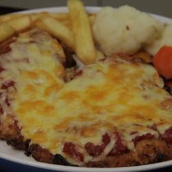Chicken Parmy AKA Chicken Parmigiana