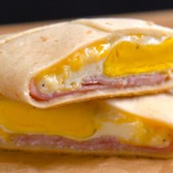 Ham & Cheese Breakfast Pockets
