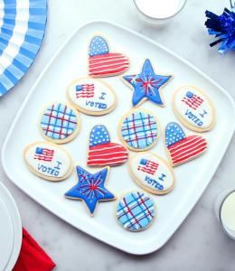 Voting Party Cookies (Vote!)